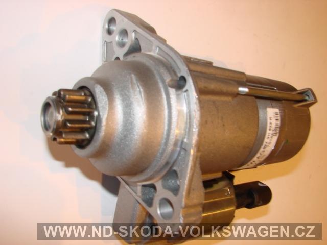 SPOUŠTĚČ MOTORU - STARTÉR 2.0kW (VALEO) FABIA 2000-2008