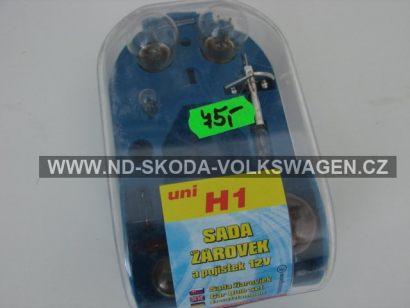 Žárovky servisní box univerzální H1