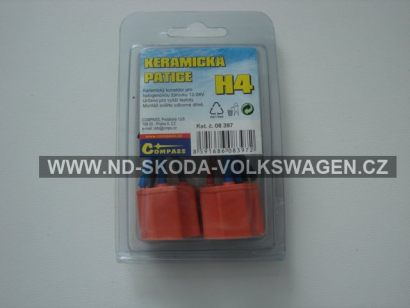 PATICE KERAMICKÁ H4 (SADA 2 KS)
