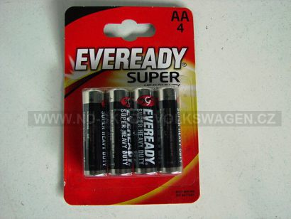 EVEREADY BATERIE SUPER HEAVY DUTY R6/AA 1.5V (4KS)