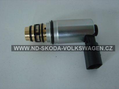 Regulační ventil kompresoru klimatizace SANDEN PXE16  -  průměr 23 , délka 71 mm