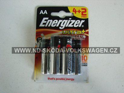 BATERIE ENERGIZER ULTRA+ LR6 1.5V AA (BALENÍ 4KS + 2KS ZDARMA)