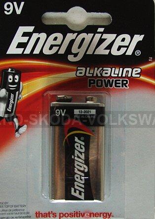 ALKALICKÁ BATERIE ENERGIZER 9V 6LR61