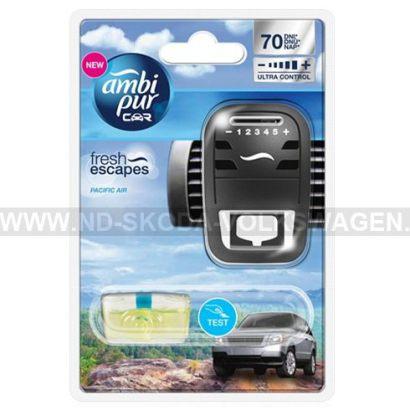 OSVĚŽOVAČ VZDUCHU DO AUTA AMBI PUR CAR PACIFIC AIR (STROJEK +  NÁPLŇ 7ML)