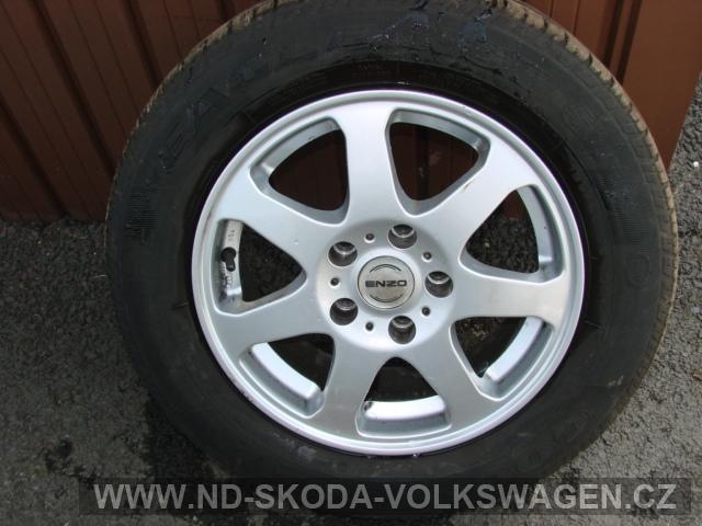 Alu kola + pneumatiky Goodyear