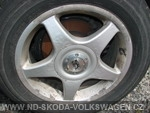 Alu kola + pneumatiky