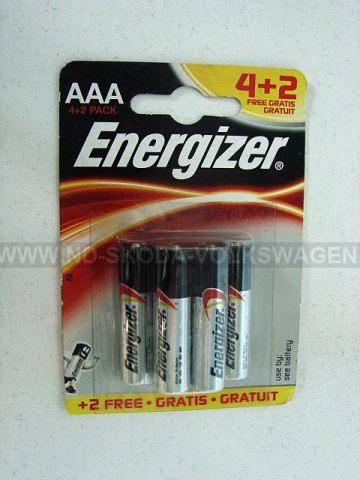 ALKALICKÉ BATERIE ENERGIZER CLASSIC AAA-LR03  (BALENÍ 4KS + 2KS ZDARMA)