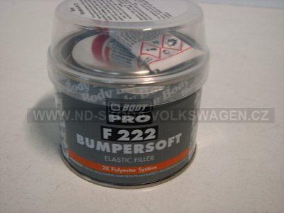 BODY F255 BUMPERSOFT - TMEL NA PLASTY ČERNÝ (250G)