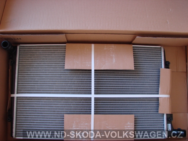 CHLADIČ VODY PASSAT B6 2005-  648x418