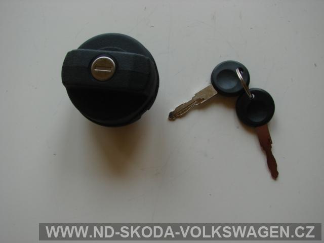UZÁVĚR PALIVOVÉ NÁDRŽE FABIA + 2 klíče