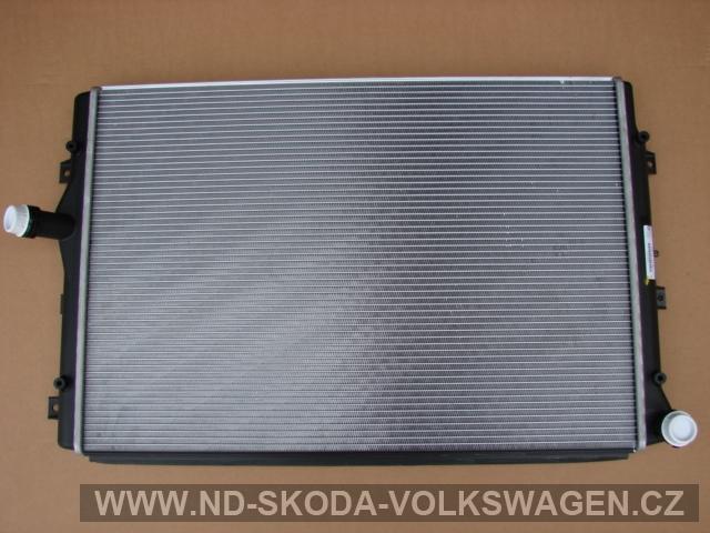 CHLADIČ VODY PASSAT B6 2005-