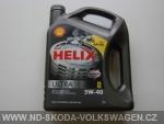 SHELL HELIX ULTRA 5W-40/4L