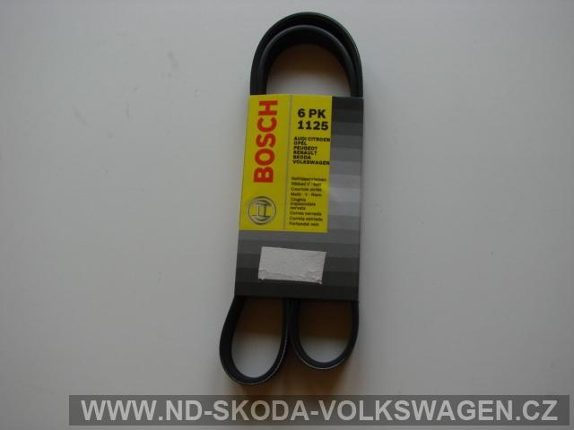 DRÁŽKOVÝ ŘEMEN OCTAVIA I  1,6 74/75 KW ( bez klimatizace )