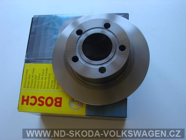 Brzdový kotouč zadní Superb I od r.2002-2008 (Bosch)