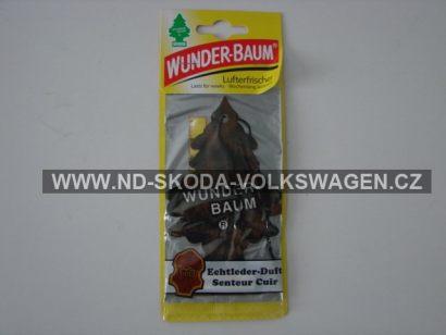 WUNDER-BAUM  osvěžovač  BAUM Leather ( kůže )