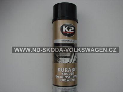 K2 UNDERCOAT 500 ml - ochranný asfaltový nástřik na podvozek