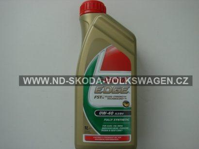 MOTOROVÝ OLEJ CASTROL EDGE FST 0W-40 A3/B4 (1L) SPECIFIKACE VW: 502.00/505.00