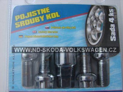 BEZPEČNOSTNÍ ŠROUBY   ŠKODA -VW PASSAT B5   M14X26 mm