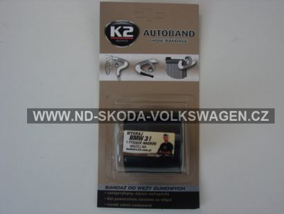 K2 AUTOBAND 5 x 300 cm - páska na opravu tlakových hadic