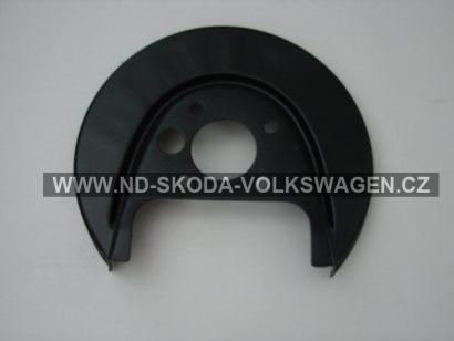 Plech krycí  zadní kotoučové brzdy OCTAVIA I 1997-2010