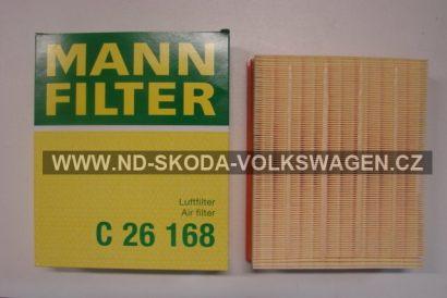 VZDUCHOVÝ FILTR MANN PASSAT B5 1997-2005