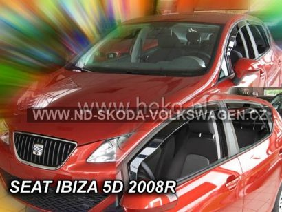 SADA OFUKŮ SEAT IBIZA HATCHBACK 2008-