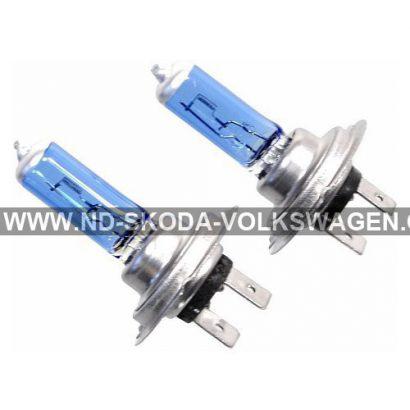 HALOGENOVÁ ŽÁROVKA H7 (XENON EFEKT) 12V 55W PX26d (SADA 2KS)