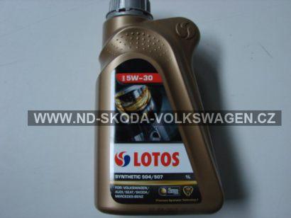 SYNTETICKÝ OLEJ 5W30 LONG LIFE  1 Litr  VW 504.00 / 507.00