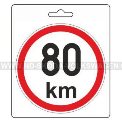 SAMOLEPKA OMEZENÁ RYCHLOST 80 KM/H (PRŮMĚR: 110MM)