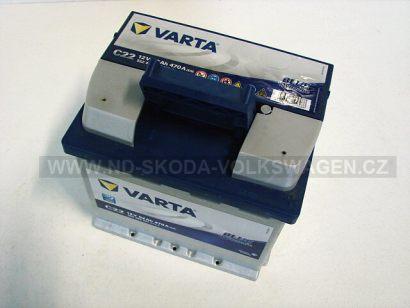 AUTOBATERIE VARTA BLUE DYNAMIC 12V 52Ah 470A (207X175X190MM)