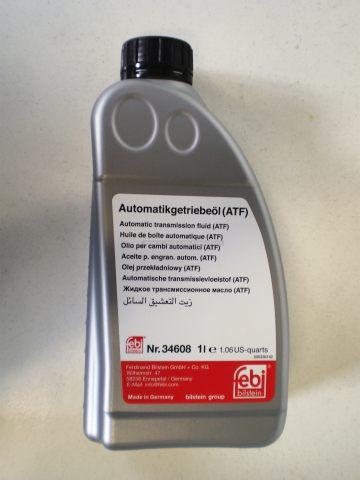 OLEJ DO AUTOMATICKÉ PŘEVODOVKY (1L), SPECIFIKACE VW: G 055 005 A2