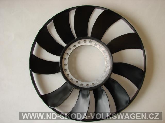 Vrtule ventilátoru Passat b5 od r.97-05