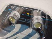 2 X LED ŽÁROVKA HIGH POWER Ba9s T4W 12V 10 MM (BARVA STUDENÁ BÍLÁ)