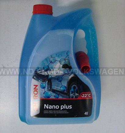 SHERON NEMRZNOUCÍ SMĚS DO OSTŘIKOVAČŮ NANO PLUS -22°C (4L) S NÁLEVKOU