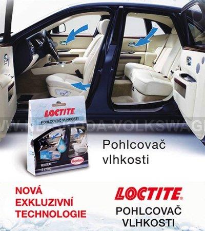 LOCTITE POHLCOVAČ VLHKOSTI - 2 X 50G SÁČEK