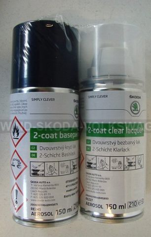 SPRAY LAK MODRÁ PACIFIK 4711/F5A (2X150ML)