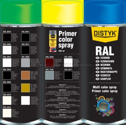PRIMER COLOR SPRAY DISTYK DEN BRAVEN (400 ML)