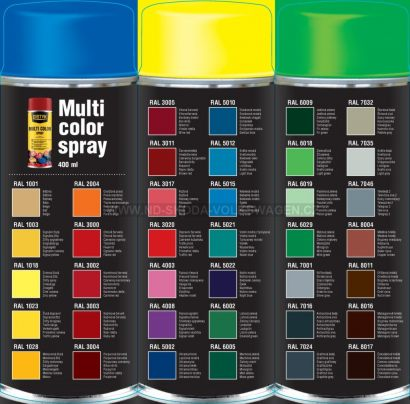 MULTI COLOR SPRAY DISTYK DEN BRAVEN (400 ML)