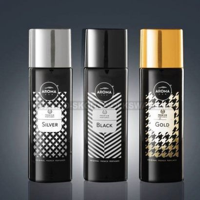 AROMA CAR PRESTIGE SPRAY BLACK (50 ML)