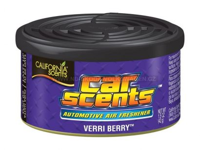 VŮNĚ DO AUTA CALIFORNIA SCENTS VERRI BERRY (BORŮVKA) 42G