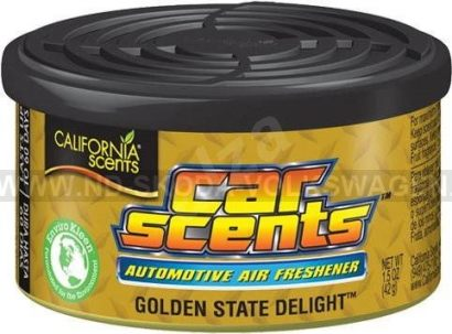 VŮNĚ DO AUTA CALIFORNIA SCENTS GOLDEN STATE DELIGHT (GUMOVÍ MEDVÍDCI) 42G