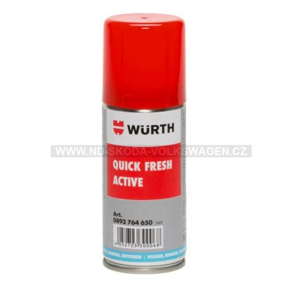 ODSTRAŇOVAČ ZÁPACHU QUICKFRESH ACTIVE WÜRTH (100ML)