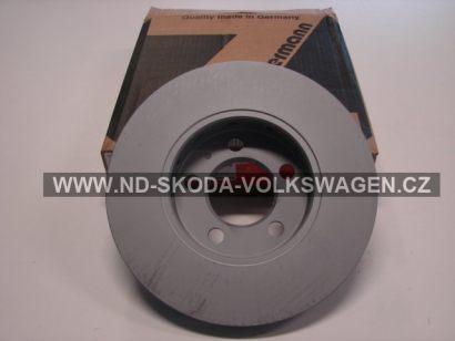 BRZDOVÝ KOTOUČ PŘEDNÍ 345X30MM (ROZTEČ 5X112MM) ZIMMERMANN PASSAT B6 2005-2011