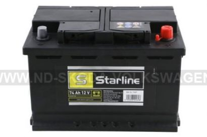 AUTOBATERIE STARLINE 12V 74Ah 278x175x190MM