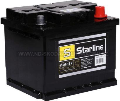 AUTOBATERIE STARLINE 12V 45Ah 207x175x190MM