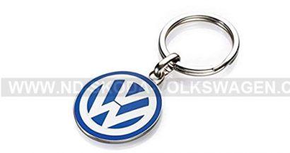 KLÍČENKA VW / ORIGINÁL PŘÍVĚSEK NA KLÍČE VOLKSWAGEN (PRŮMĚR: 30MM)