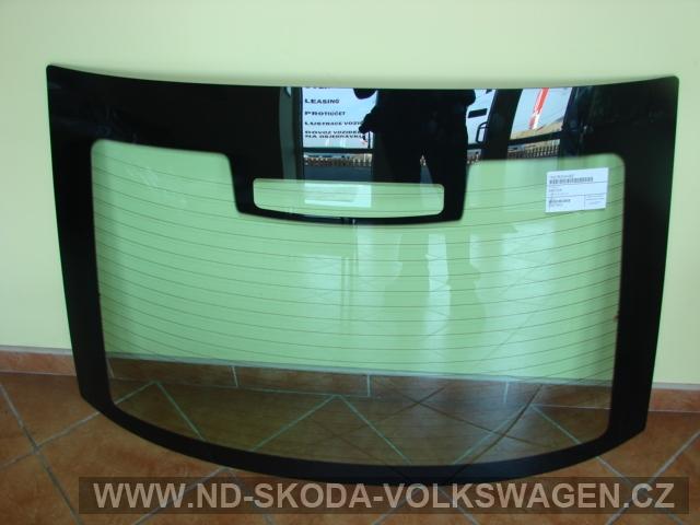 Zadní sklo zelené octavia od r.01-2010