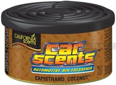 VŮNĚ DO AUTA CALIFORNIA SCENTS CAPISTRANO COCONUT (KOKOS) 42G