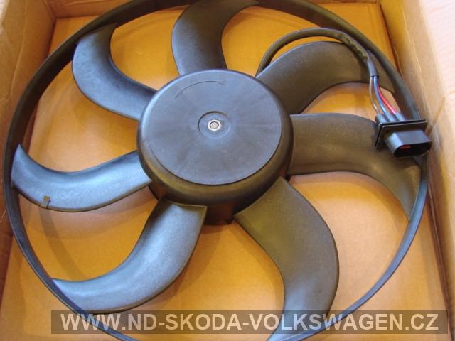 Větrák elektrický 260/90W 390mm   FABIE II