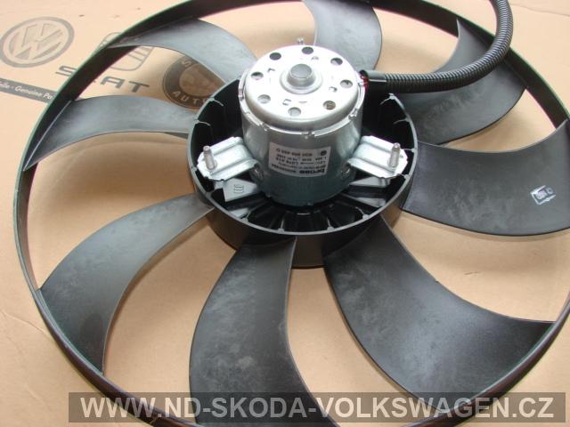 Větrák elektrický FABIE II  1.4TDI